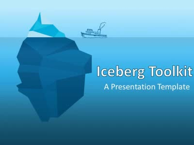 ID# 13928 - Iceberg Toolkit - PowerPoint Template