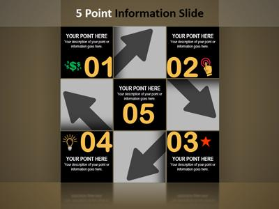 Infographics Box PowerPoint Template