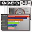 ID# 13992 - Assorted Graph Slides - PowerPoint Template