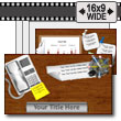 ID# 14385 - Desktop Swipe - PowerPoint Template