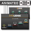 ID# 14400 - Info Ledge - PowerPoint Template
