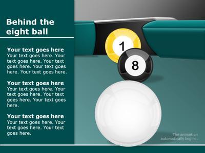 Billiard Balls PowerPoint Template