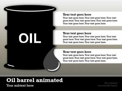 Oil industry infographic a powerpoint template from presentermedia home powerpoint templates toneelgroepblik Image collections