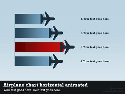 Airport Infographic PowerPoint Template