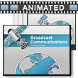 ID# 14955 Broadcast Communications PowerPoint Template
