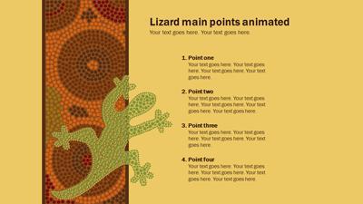 Aboriginal artwork a powerpoint template from presentermedia home powerpoint templates toneelgroepblik Image collections