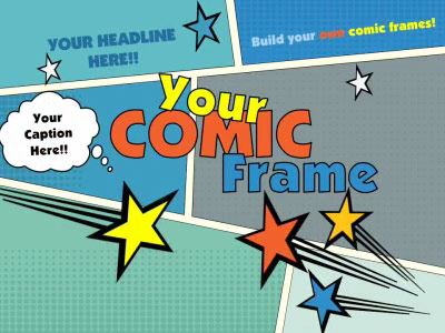 Your Comic Frame - A Powerpoint Template From Presentermedia.Com