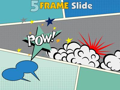 Your comic frame a powerpoint template from presentermedia powerpoint template loading preview close pronofoot35fo Image collections