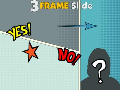 your comic frame - a powerpoint template from presentermedia, Modern powerpoint