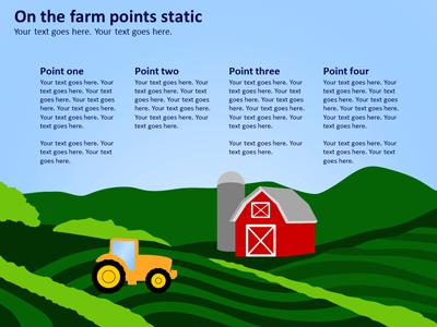 Amazing agriculture a powerpoint template from presentermedia toneelgroepblik Image collections