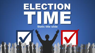 ID# 15552 - Election Time - PowerPoint Template