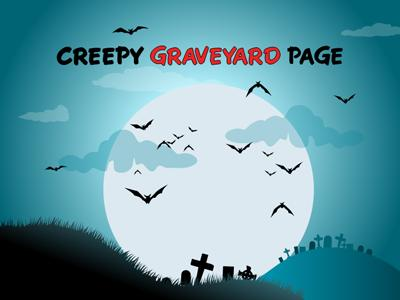 Graveyard creeps a powerpoint template from presentermedia toneelgroepblik Images