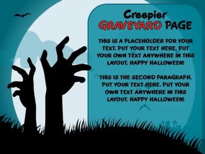 halloween powerpoint template free