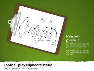 Football playbook a powerpoint template from presentermedia maxwellsz