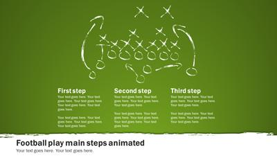 Football playbook a powerpoint template from presentermedia home powerpoint templates toneelgroepblik Image collections