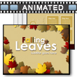 ID# 15764 Falling Leaves PowerPoint Template