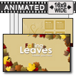 ID# 15765 - Falling Leaves - PowerPoint Template