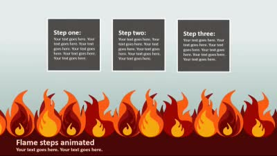 Extinguishing the fire a powerpoint template from presentermedia id15856 widescreen template extinguishing the fire toneelgroepblik Image collections