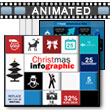 ID# 15972 Christmas Infographic PowerPoint Template