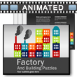 ID# 16154 Factory Puzzles PowerPoint Template