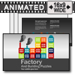ID# 16155 - Factory Puzzles - PowerPoint Template
