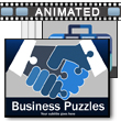 ID# 16225 Business Puzzles PowerPoint Template