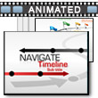ID# 16488 Navigate Timeline PowerPoint Template