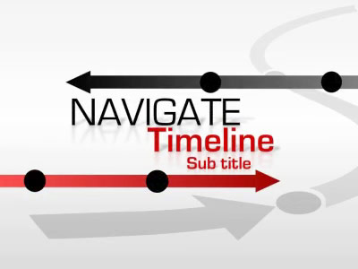 Navigate Timeline - A Powerpoint Template From Presentermedia.Com