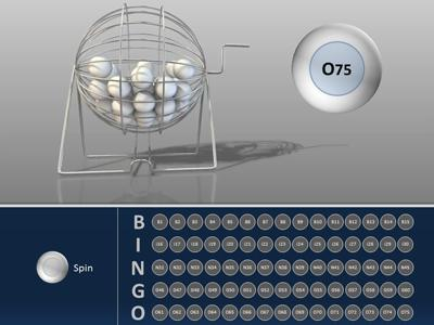 Bingo Interactive  A Powerpoint Template From PresentermediaCom