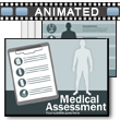 ID# 16525 Medical Assessment PowerPoint Template