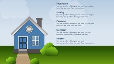Building a house a powerpoint template from presentermedia powerpoint template loading preview close toneelgroepblik Gallery