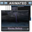 ID# 16677 Stormy Waters PowerPoint Template