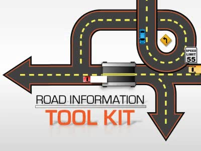 ID# 17000 - Road Information Tool Kit - PowerPoint Template