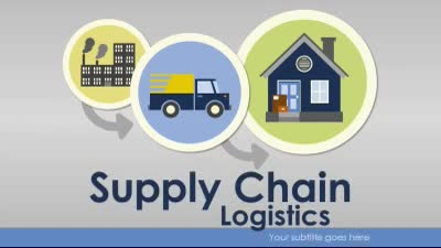 ID# 17069 - Supply Chain Logistics - PowerPoint Template