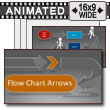 ID# 17201 - Diagram Flow Chart - PowerPoint Template