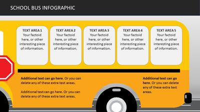 School bus infographics a powerpoint template from powerpoint template loading preview close toneelgroepblik Images