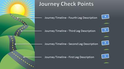 The uphill road a powerpoint template from presentermedia powerpoint template loading preview close toneelgroepblik Choice Image