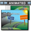 ID# 17719 The Uphill Road PowerPoint Template