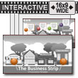ID# 17770 - The Business Strip - PowerPoint Template
