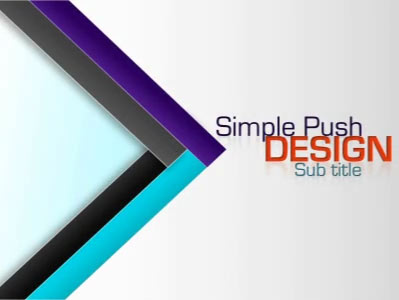 Simple push design a powerpoint template from presentermedia simple push design powerpoint template toneelgroepblik Images