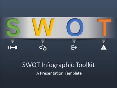 ID# 18383 - SWOT Infographic Toolkit - PowerPoint Template