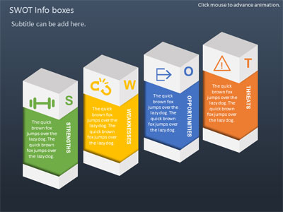 SWOT Infographic Toolkit - A PowerPoint Template from ...