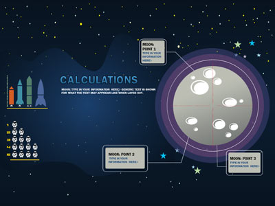 Space calculations a powerpoint template from presentermedia home powerpoint templates toneelgroepblik Images