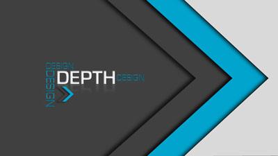 ID# 18805 - Design Depth - PowerPoint Template