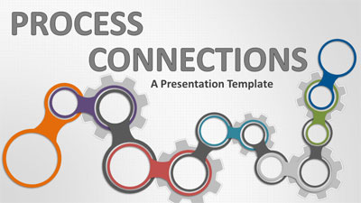 ID# 18811 - Process Connections - PowerPoint Template