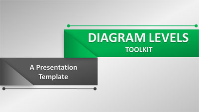 ID# 19200 - Diagram Levels Toolkit - PowerPoint Template