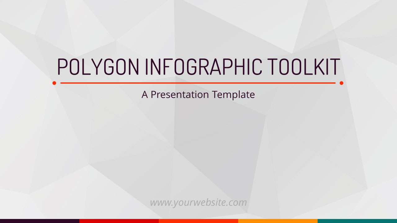 ID# 19285 - Polygon Infographic Toolkit - PowerPoint Template