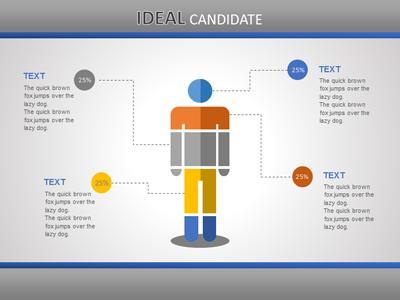 hr slide designs - a powerpoint template from presentermedia, Modern powerpoint