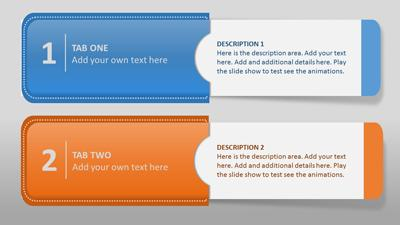 Info tabs a powerpoint template from presentermedia home powerpoint templates toneelgroepblik Images