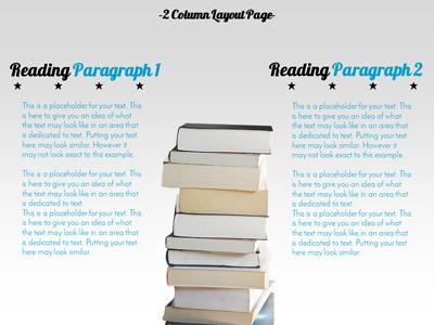 Reading exploration a powerpoint template from presentermedia home powerpoint templates toneelgroepblik Images